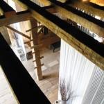 Tasting room in the barn